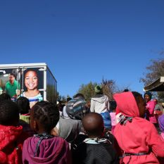 Spar Truck of Love spreads love to Ebenezer Hannah Home
