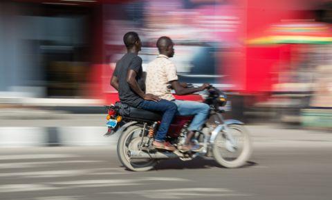 Lagos Nigeria Motorcylce Taxi Okada