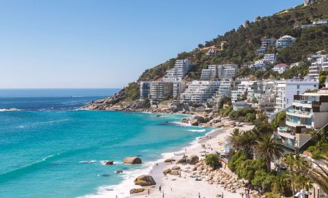 Clifton Beach Cape Town coastline 123rflocal 123rflifestyle 123rf