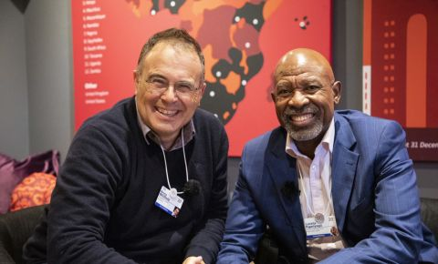 Bruce Whitfield and Lesetja Kganyago