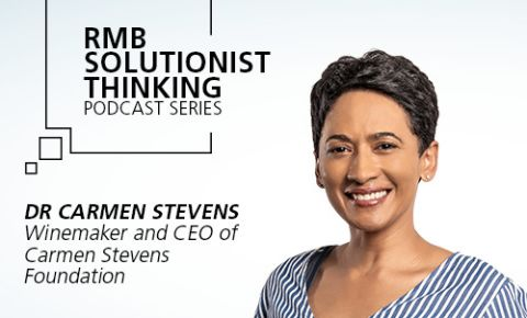 RMB Solutionist Thinking - Carmen Stevens from Carmen Stevens Foundation