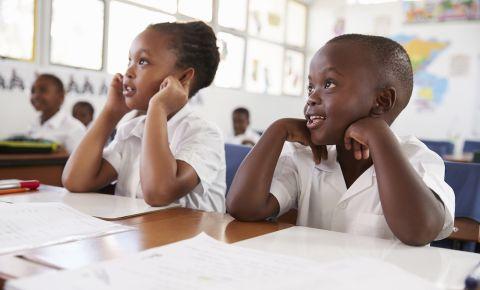School learners pupils in classroom 123rfeducation 123rf
