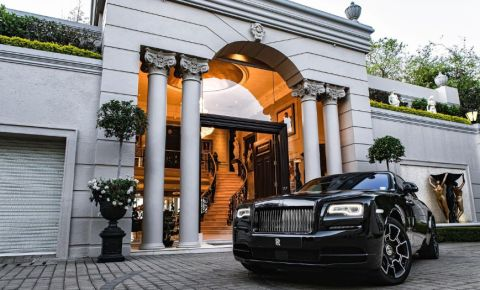 Houghton Ridge mansion Rolls Royce Chas Everitt