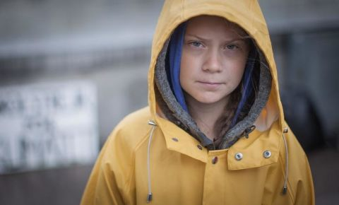 Greta Thunberg - picture by Anders Hellberg (Wikimedia)