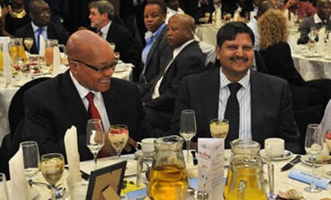 Jacob Zuma atul gupta