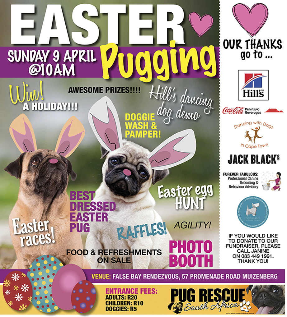 Pug Rescue Easter Puggin
