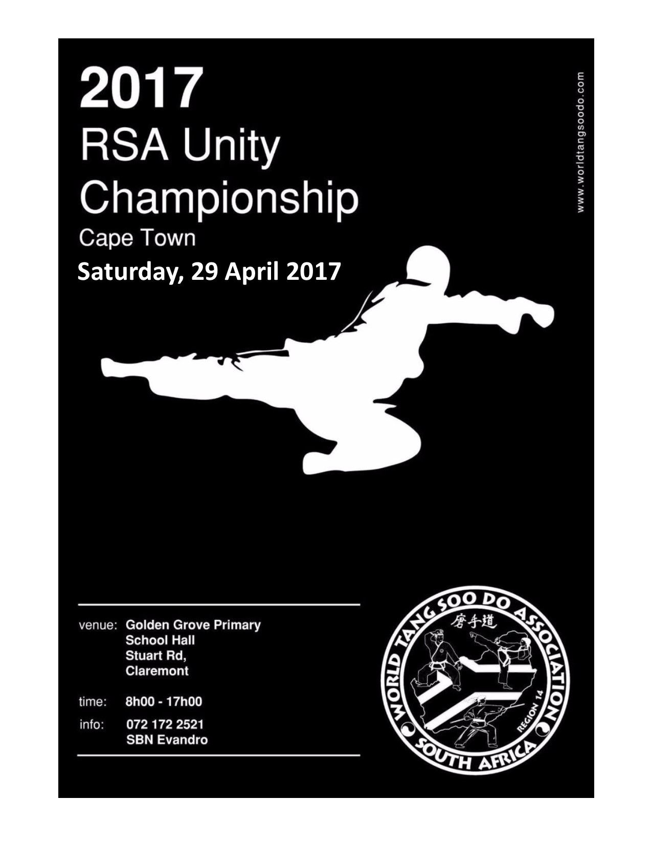 TANGSOODO KARATE RSA National Unity COMPETITION