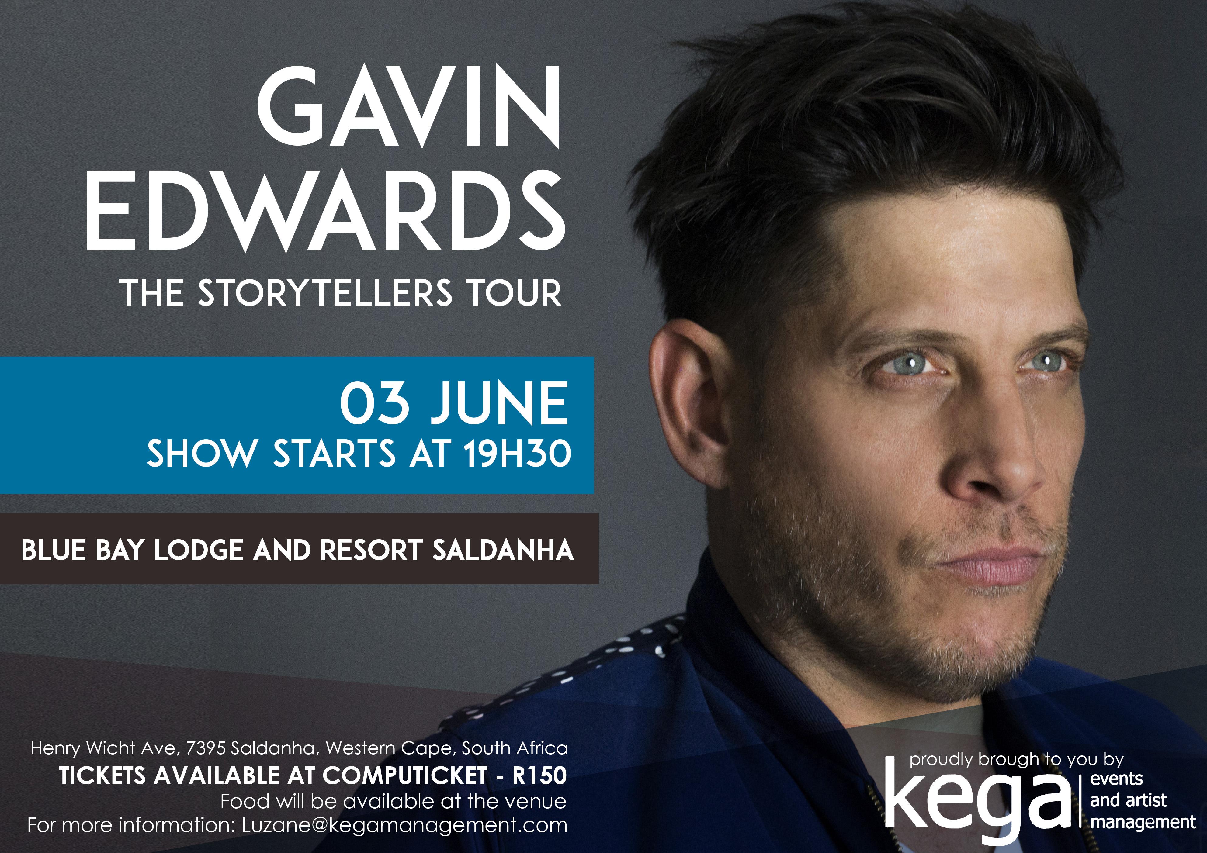Gavin Edwards Storytellers tour