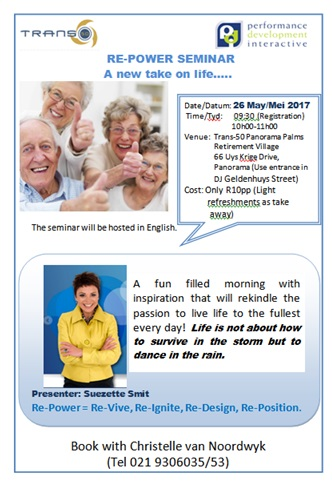 Re-Power- A new take on life  Seminar