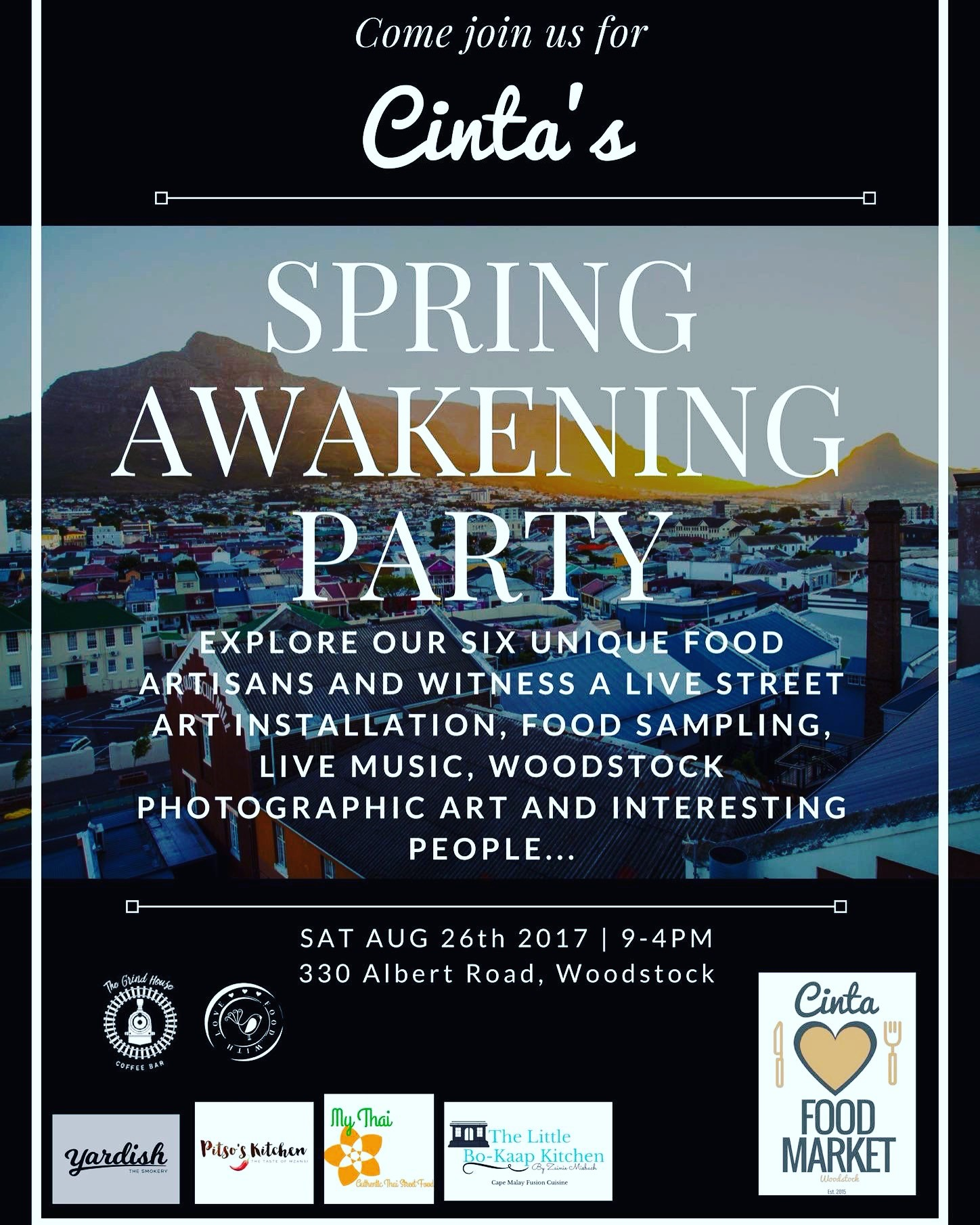 Cinta's Spring Awakening Party