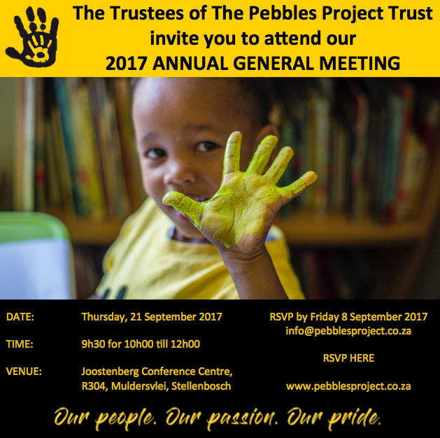 Pebbles Project AGM 2017