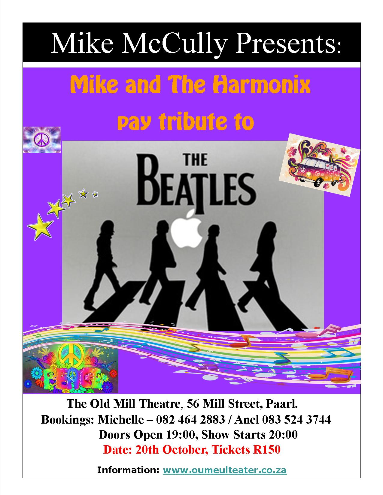 Mike McCullagh & The Harmonix pay tribute to The Beatles