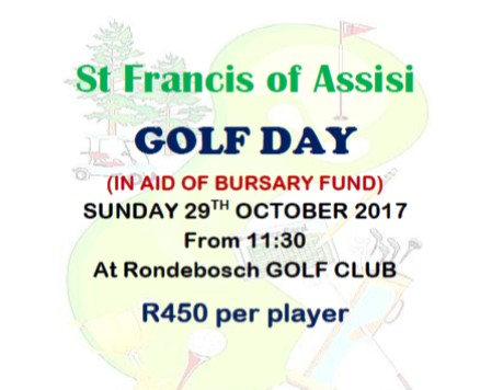 St.Francis of Assisi Golf Day