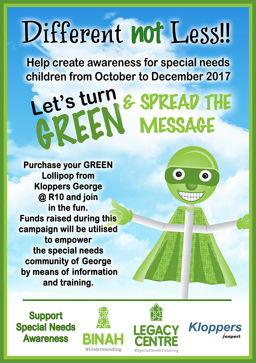 Green Lollipop Awareness Campaign