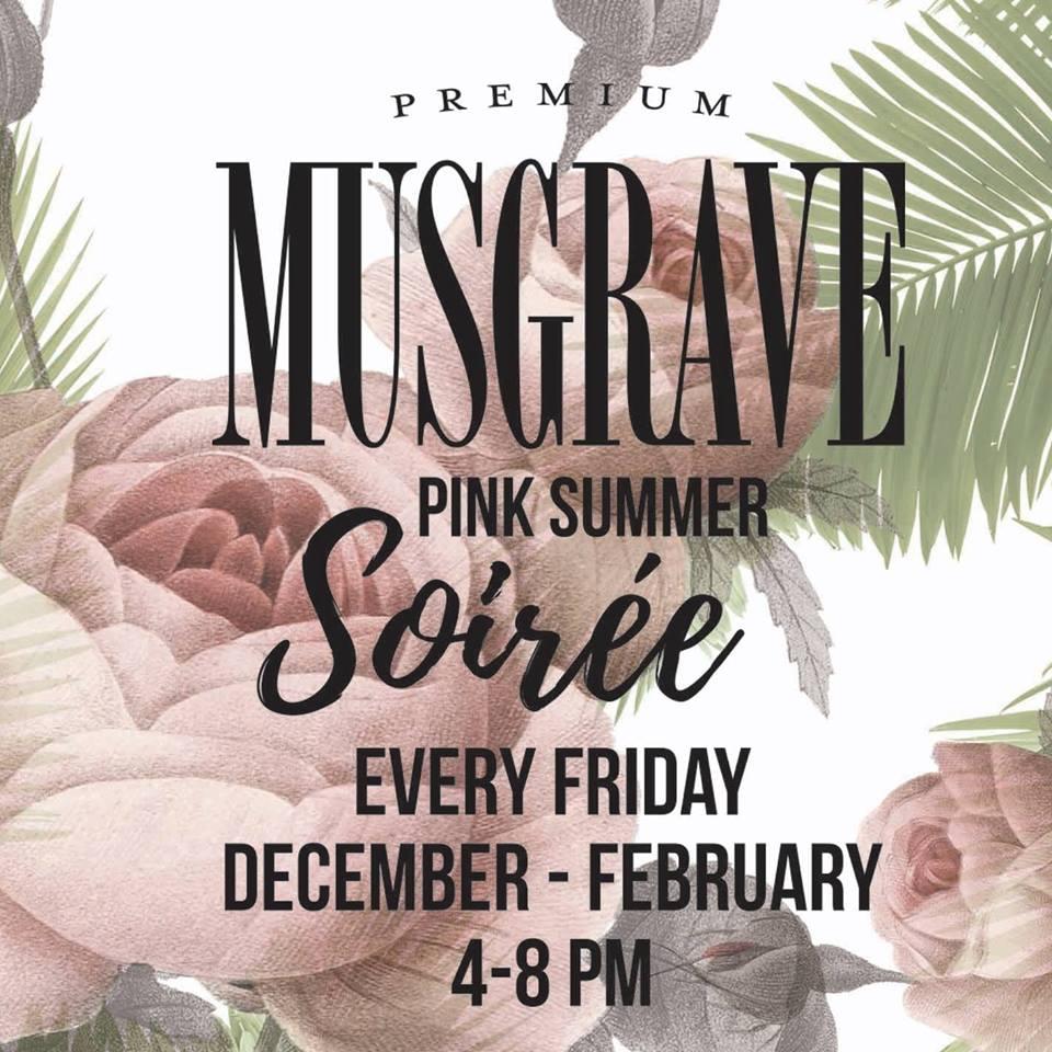 Musgrave Gin Pink Summer Soirées