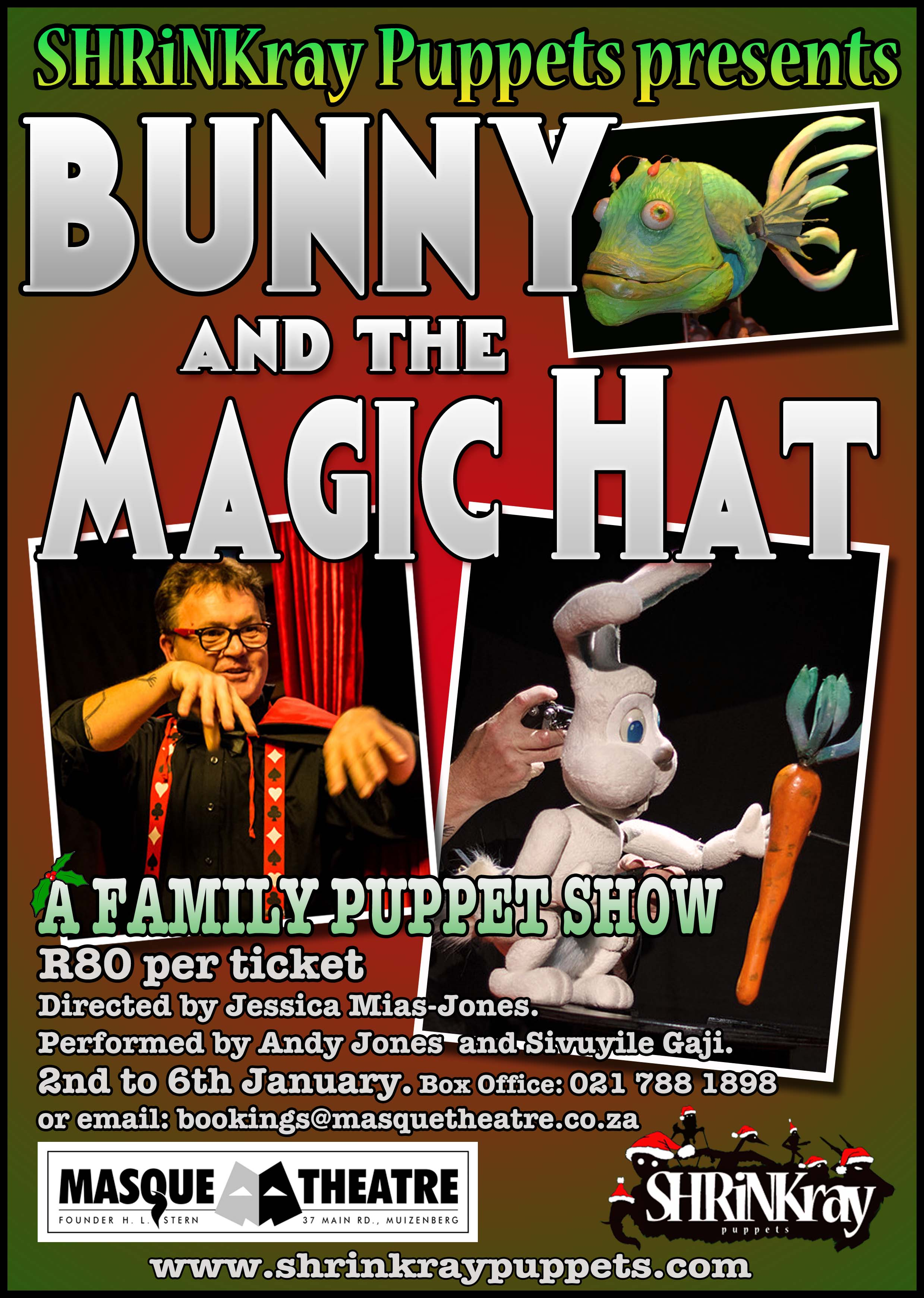 """Bunny and the Magic Hat"" - A Family Puppet Show"