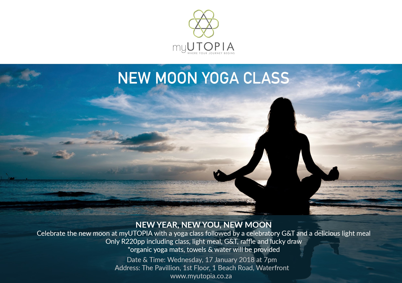 New moon Yoga Class