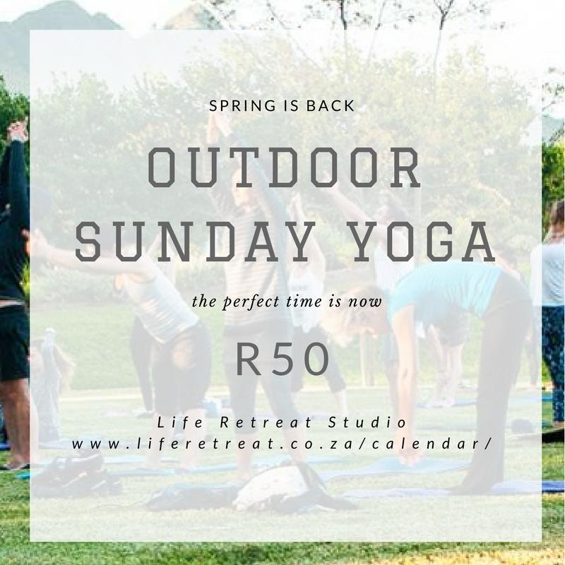Family Sunday Outdoor Yoga