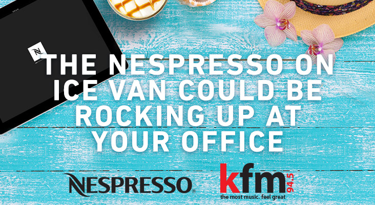 Kfm 94.5 & Nespresso On Ice