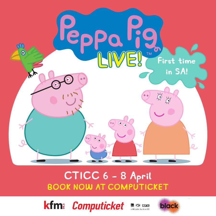 Peppa Pig Live In SA!