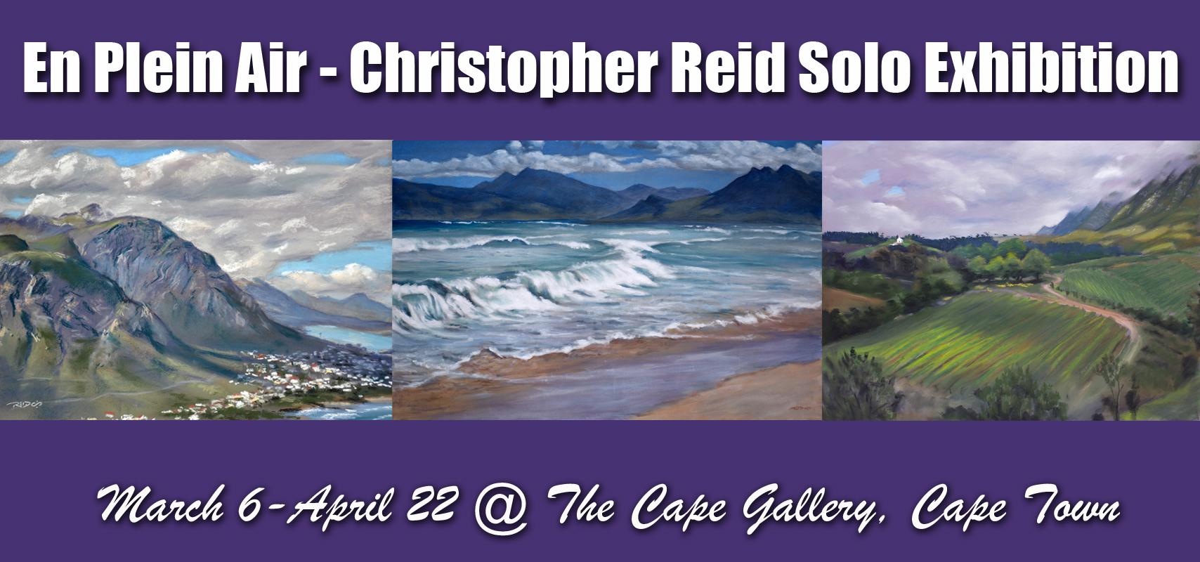 En Plein Air - International artist Christopher Reid solo exhibition