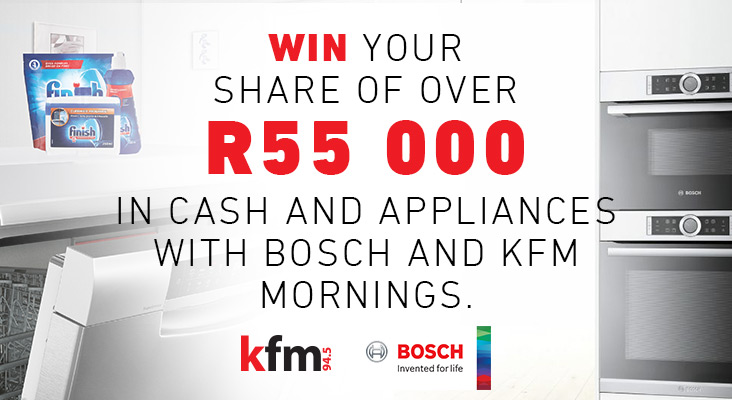 Kfm 94.5 & Bosch - Making Light Work of Housework