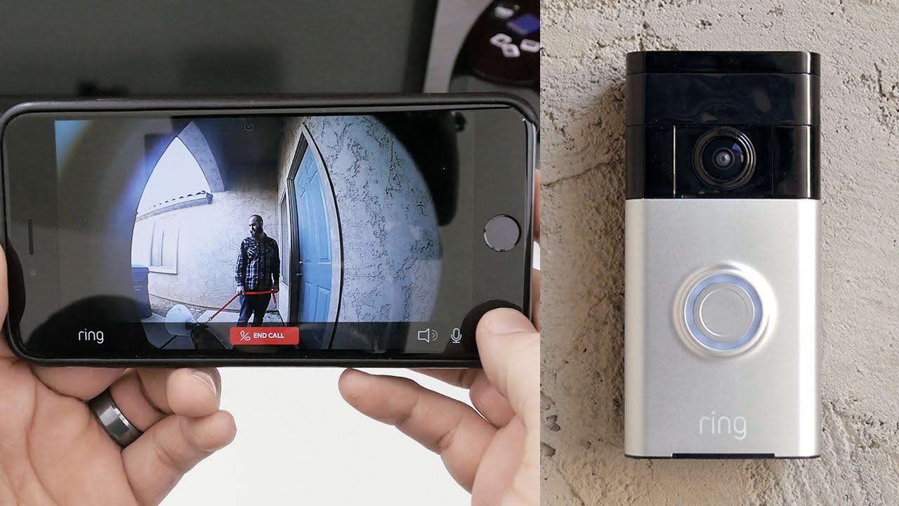 This Video Doorbell Lets Homeowners Check On The Front