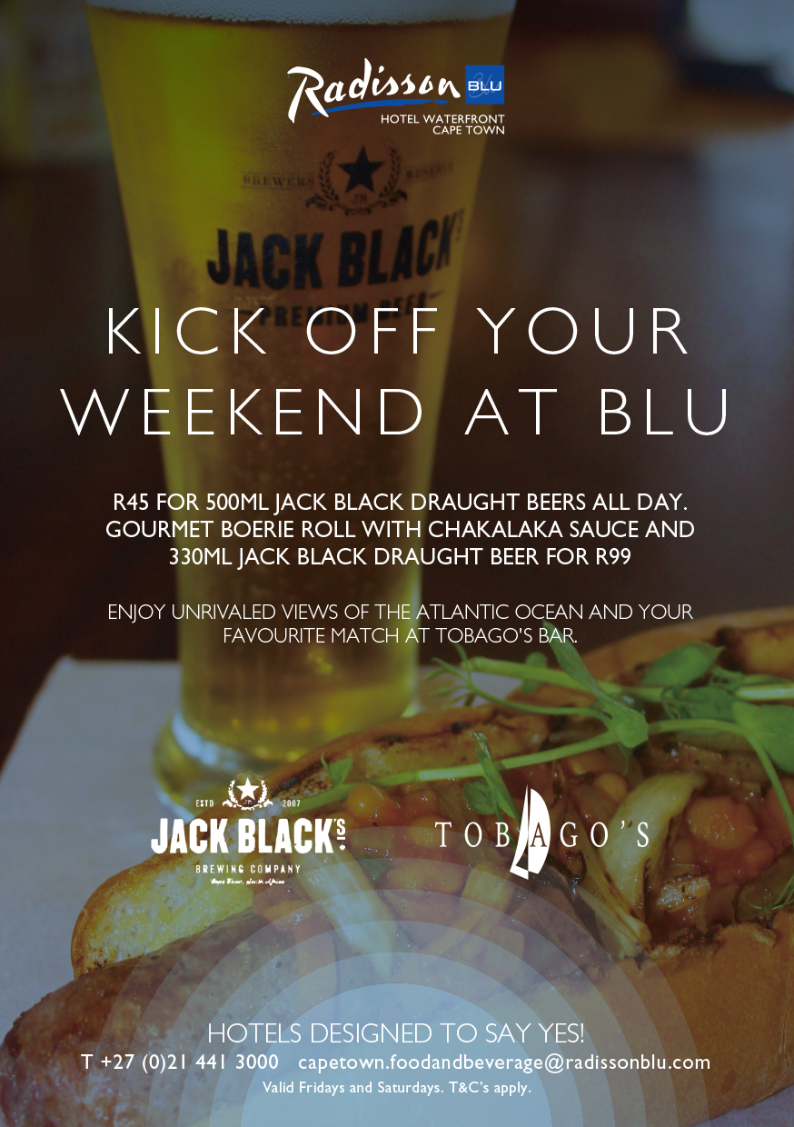 Kick off your Weekend at the Radisson Blu Hotel Waterfront
