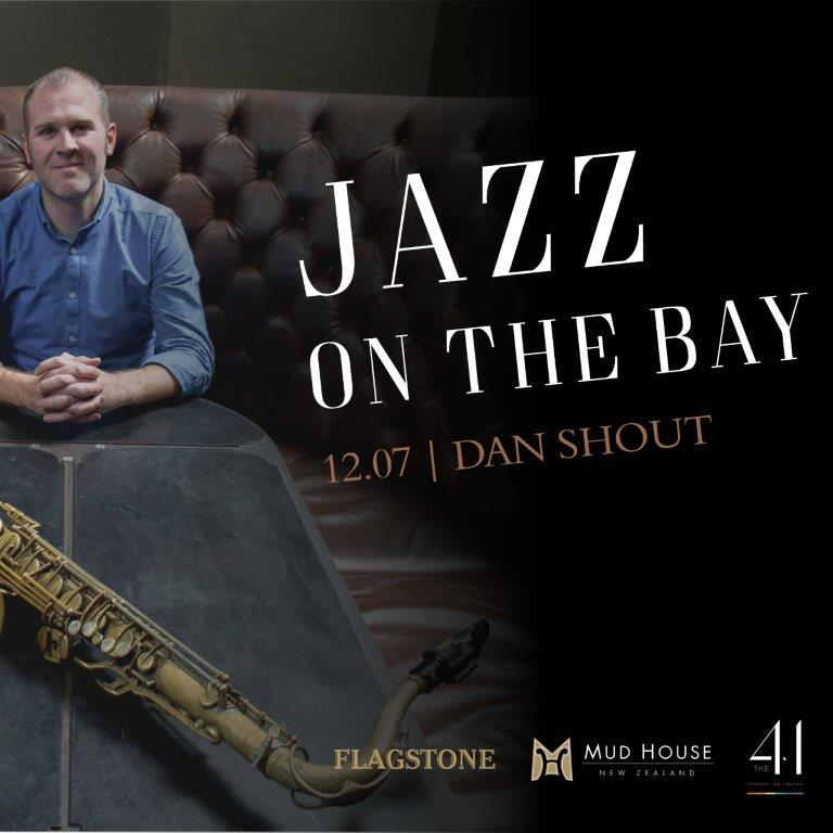 Jazz on the Bay at the 41: Dan Shout in July
