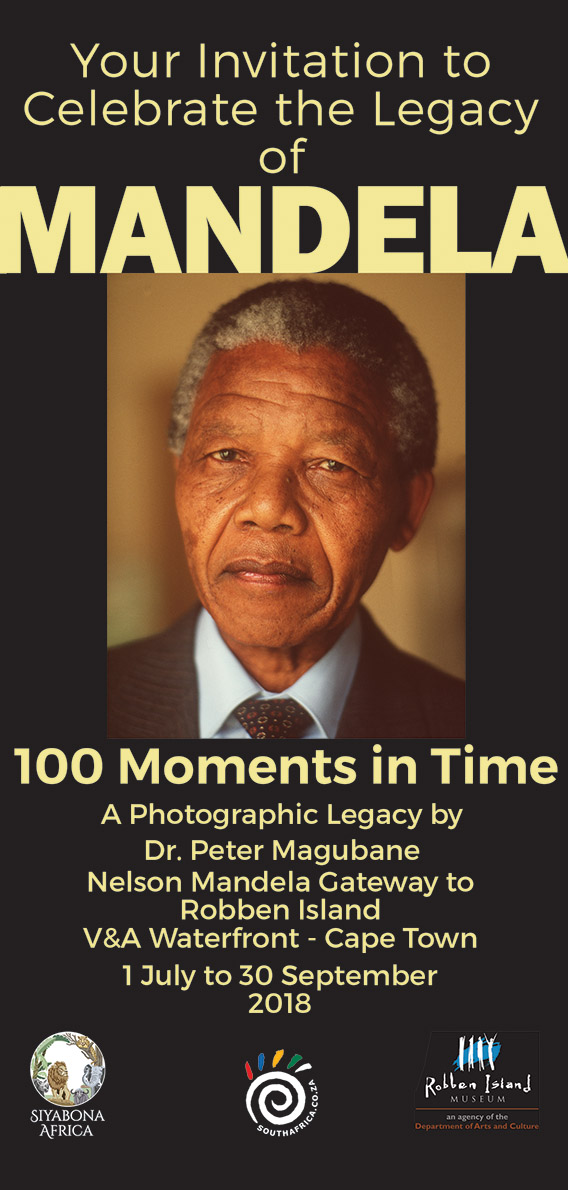 Nelson Mandela: 100 Moments in Time