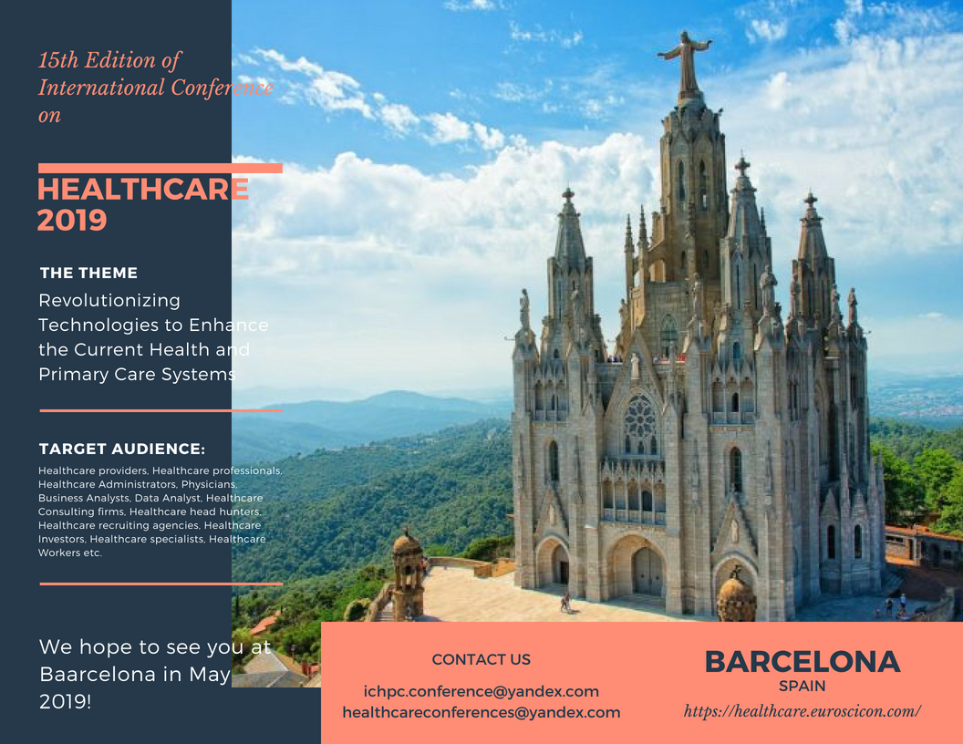 15th Edition of International Conference on Health and