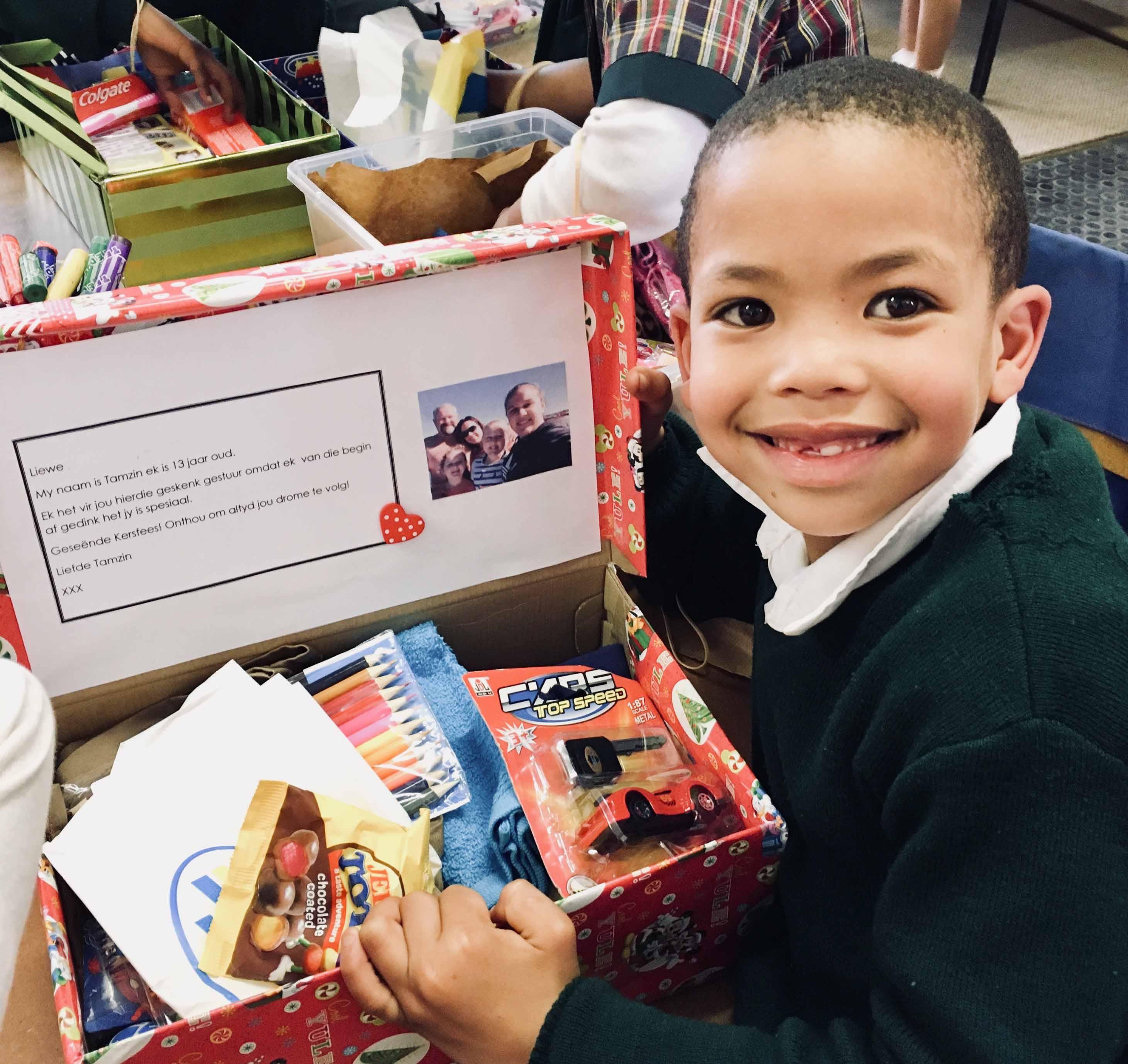 Santa Shoebox Project Pledging: 1 August - 30 September 2018