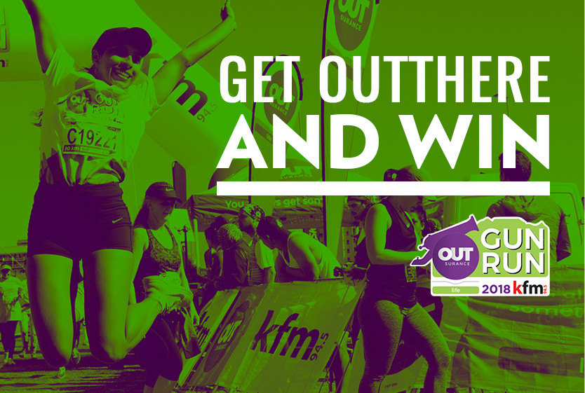 Get OUTthere and win with the Outsurance Life Kfm Gun Run