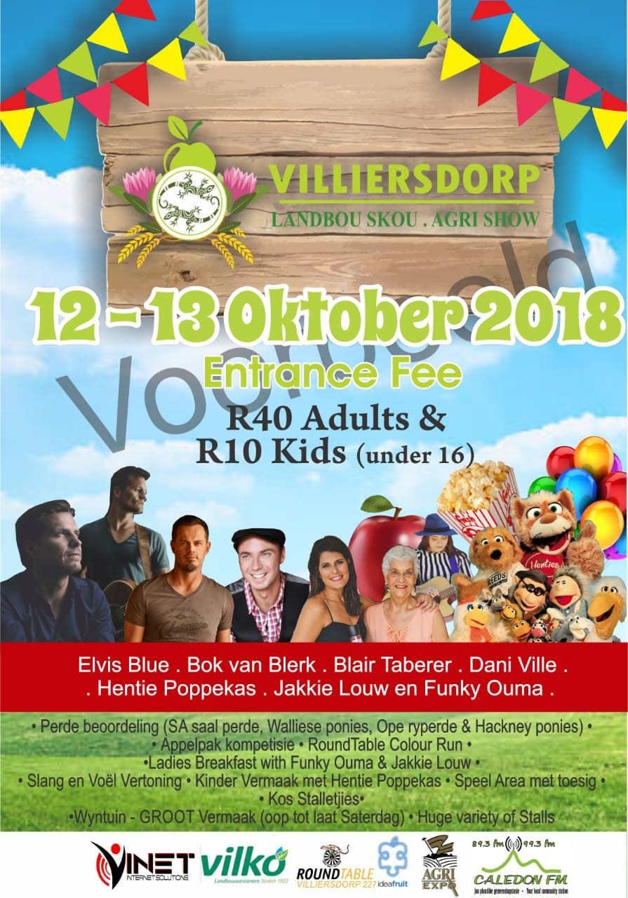 Villiersdorp Landbou Skou / Agri Show