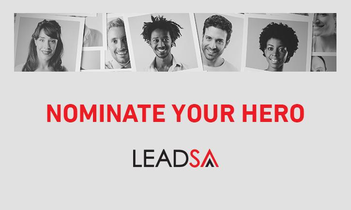 LeadSA Nominate your Hero 2018