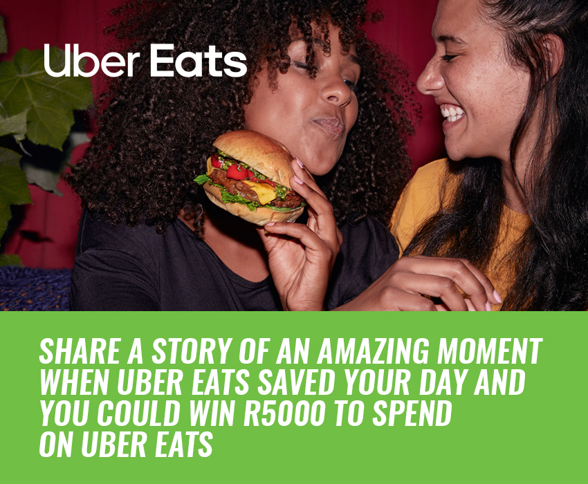 Share your Uber Eats story with us and you could win on KFM