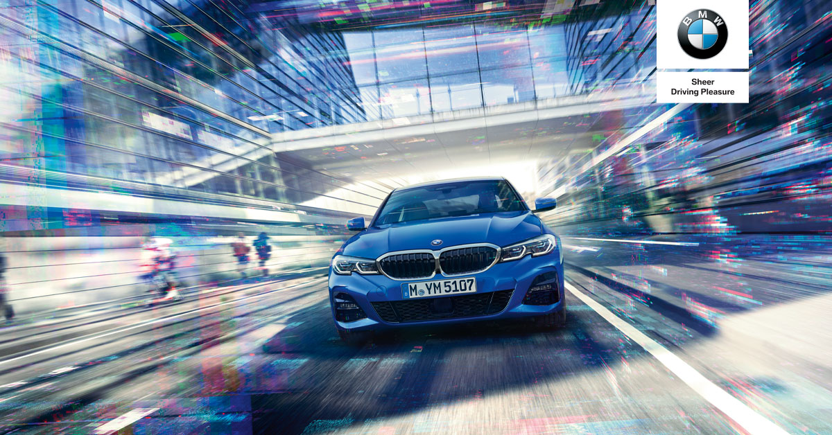 EXPERIENCE THE ALL-NEW BMW 3 SERIES with Kfm 94.5