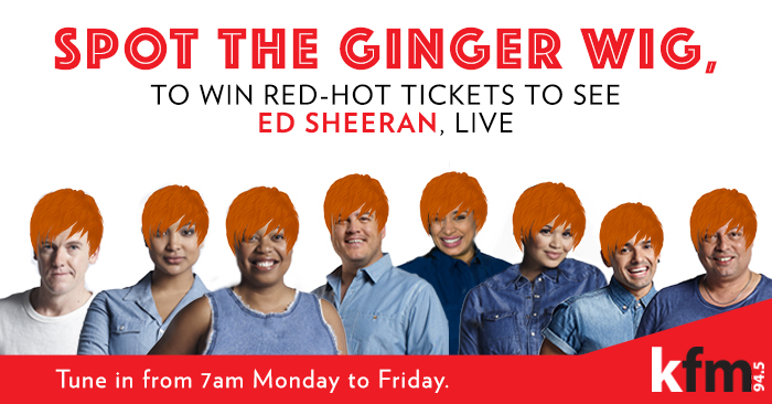 Spot The Ginger Wig with Kfm 94.5