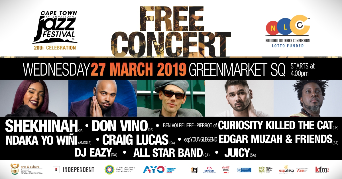 Cape Town Jazz Festival Free Concert