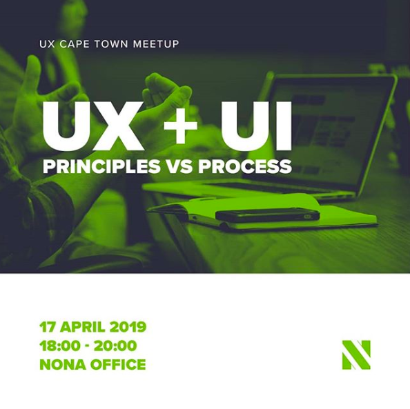 1st UX Cape Town Meetup at NONA