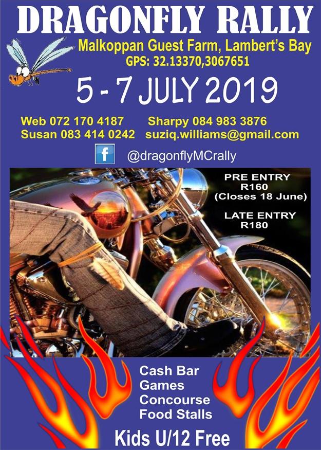 Dragon Fly Motorcycle Rally 2019