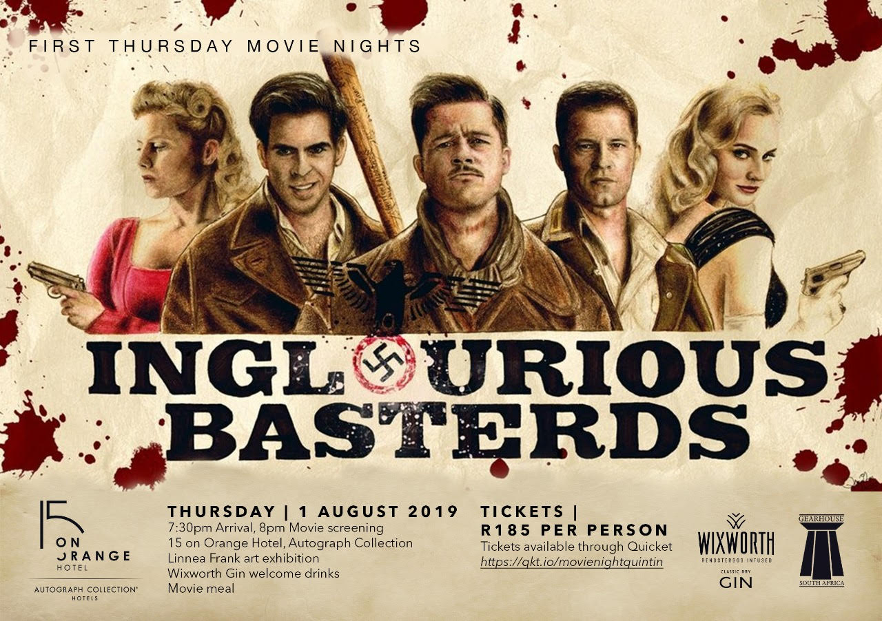First Thursday Movie Nights- Inglorious Basterds