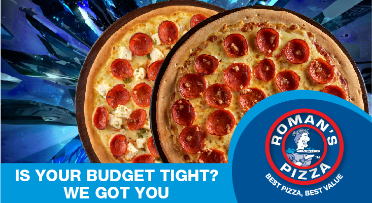 Win big with Roman's Pizza & Kfm 94.5!