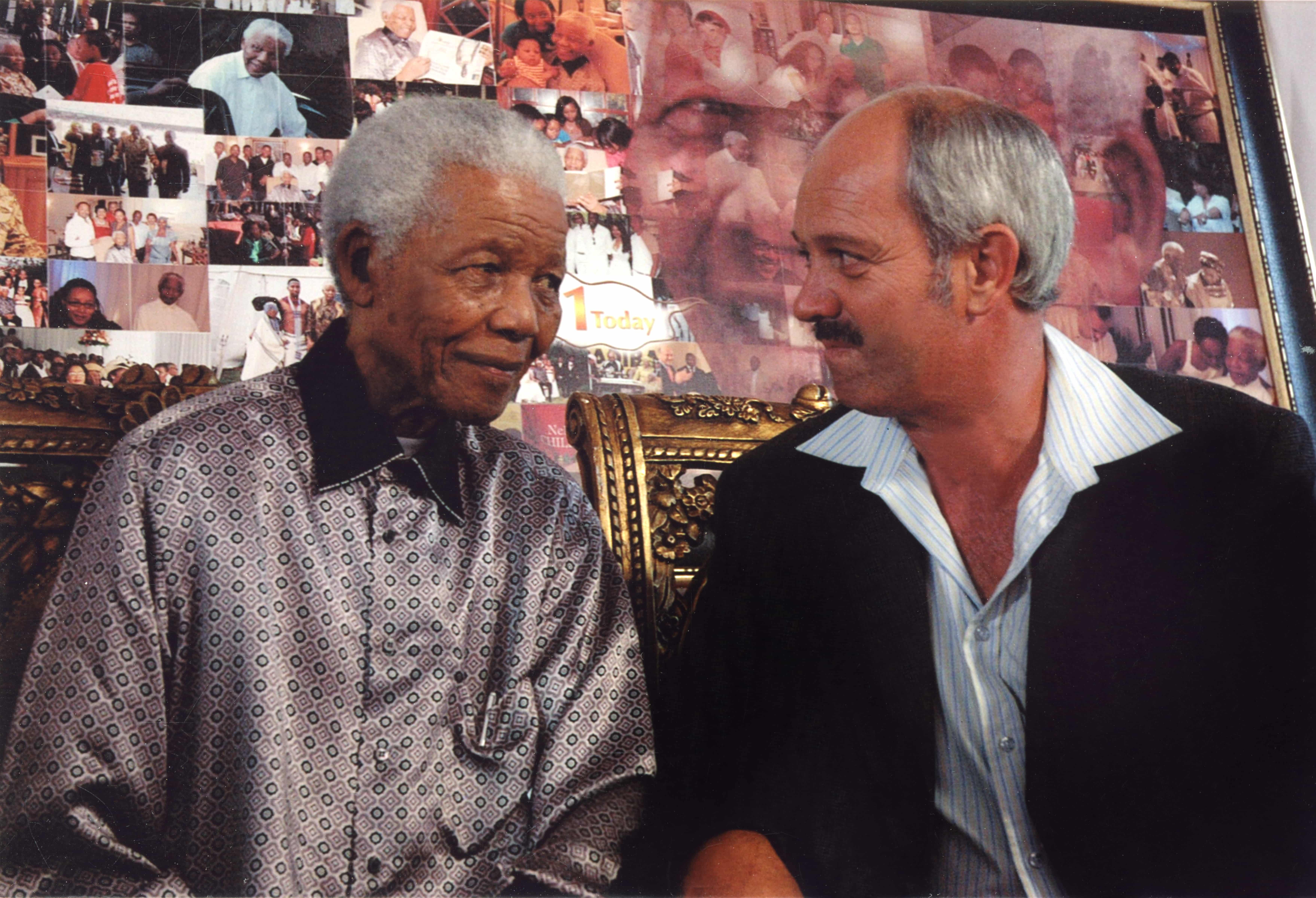 Nelson Mandela day at The Cellars-Hohenort with Christo Brand
