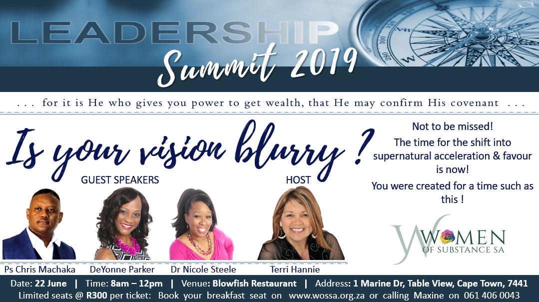 Women of Substance SA Leadership Summit