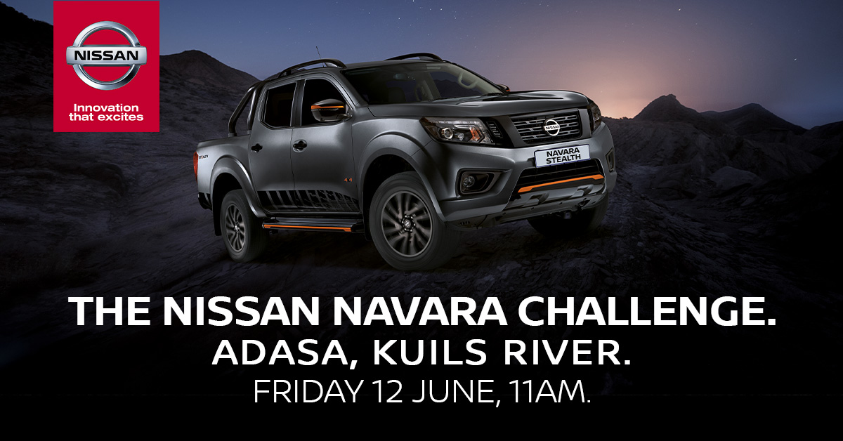 The Ultimate Nissan Navara Guy Challenge on Kfm 94.5