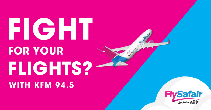 Fight for your flight with KFM 94.5