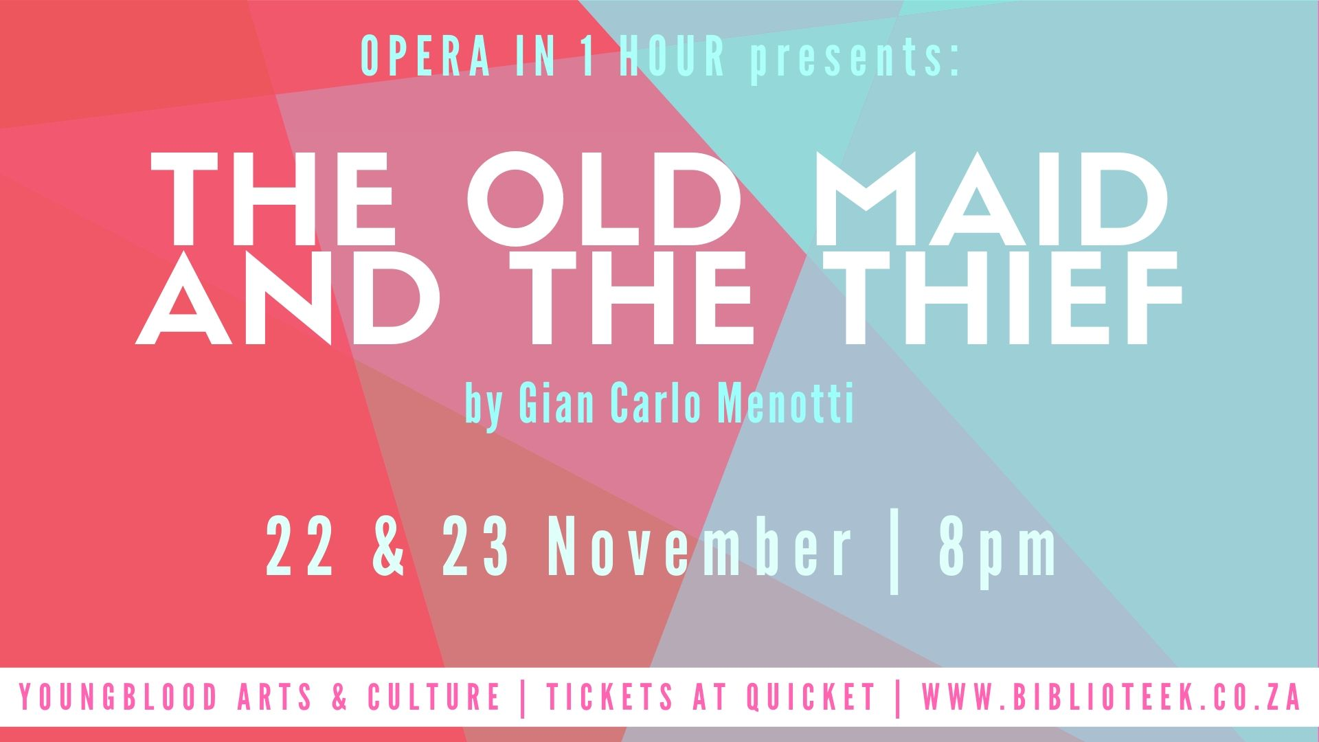 Opera in 1 Hour Presents: The Old Maid and The Thief by