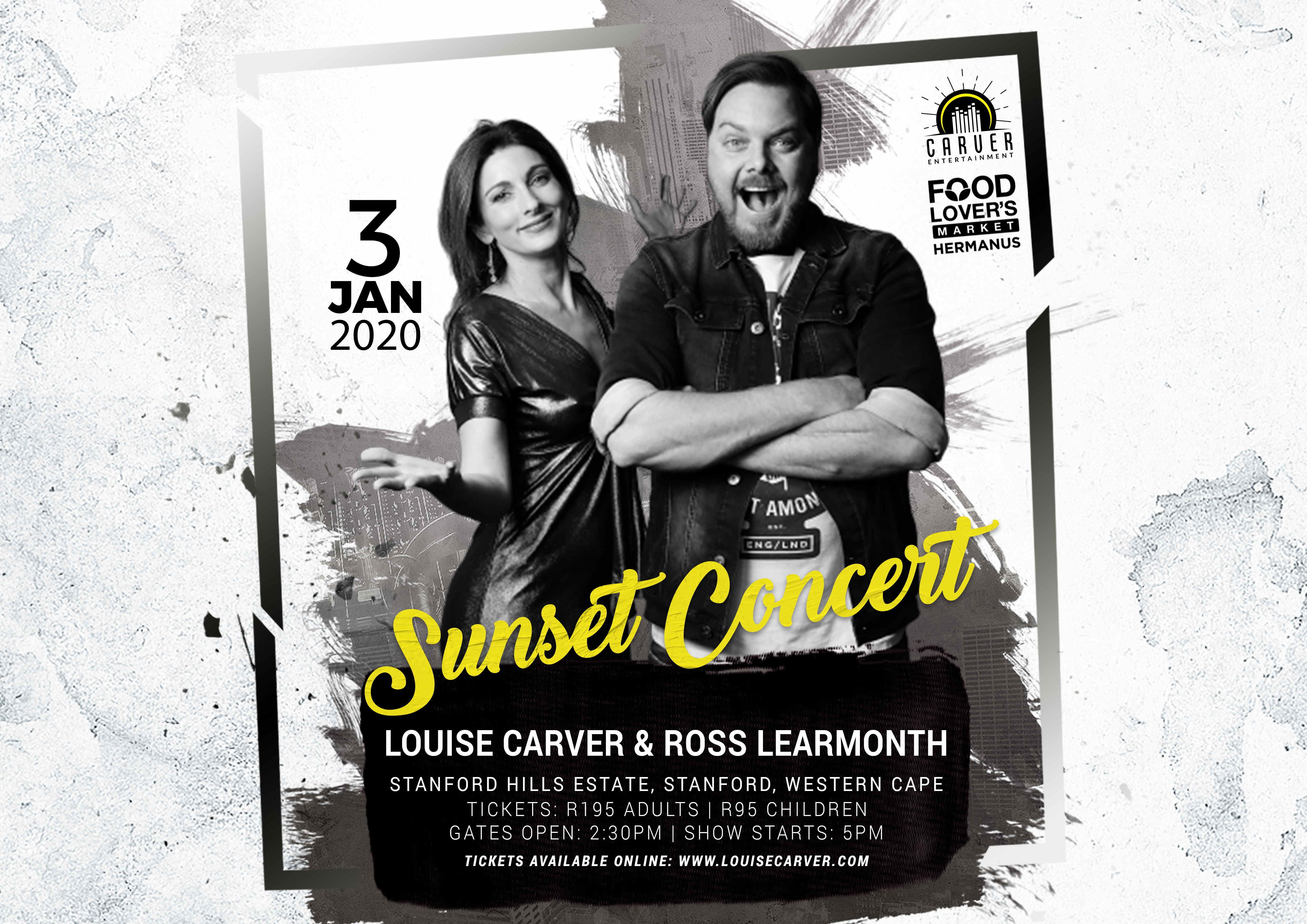 Louise Carver and Ross Learmonth at Stanford Hills Estate
