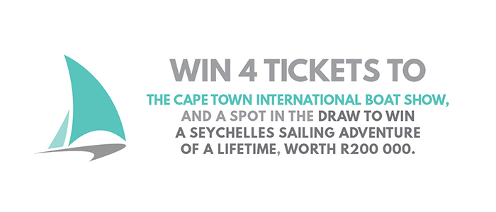 Win big with The Cape Town International Boat Show